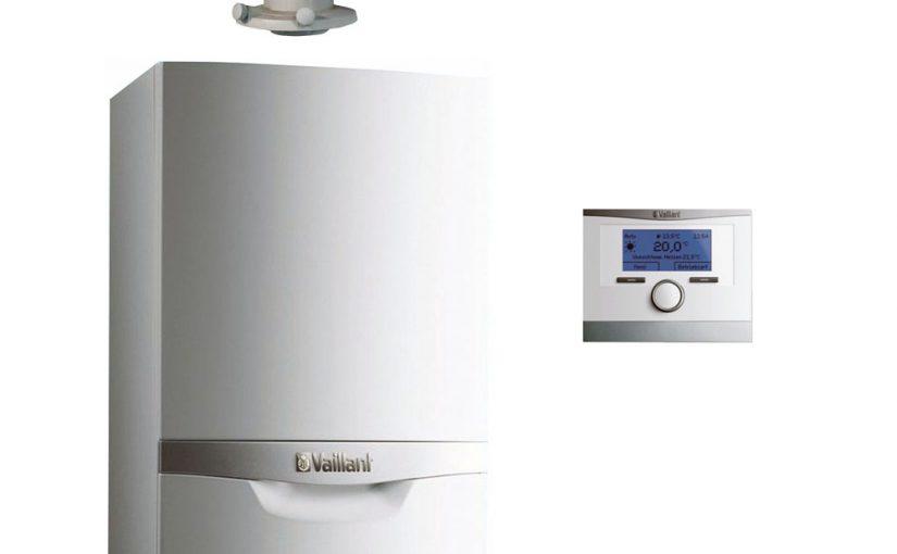 Piec gazowy dwufunkcyjny Vaillant ecoTEC plus 5,7-27kW pogodówka komin