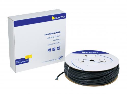 Kabel grzejny do rynien Elektra ø5x7mm 102m 2050W